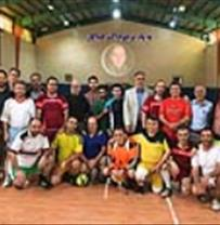 Quadruple futsal tournament was held