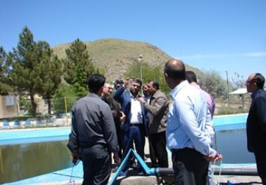 Visiting the Iranian Artemia Research Center - Urmia