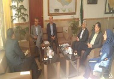 Meeting with the head of the Planning and Budget Organization of Mazandaran Province