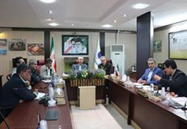 Joint meeting of managers of the institute with officials of the Tohfeh Company