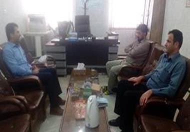 The head of the Chabahar Offshore Fisheries Research Center met with the head of the Chabahar Agricultural Research Education and Extension Station