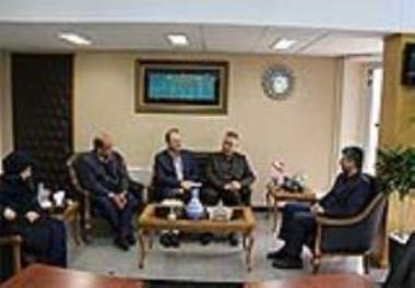Holding the joint meeting at the Iran University of Medical Sciences