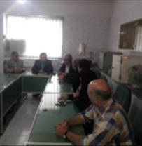 Sincere meeting of deputy director of research of the Caspian Sea Ecology Research Center
