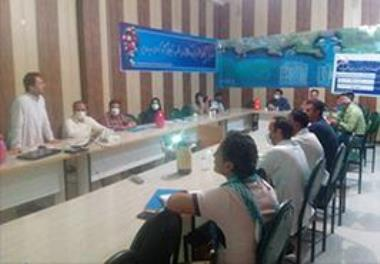 Shrimp nutrition management training course for semi - intensive shrimp farming was held at Gwadar shrimp farming site